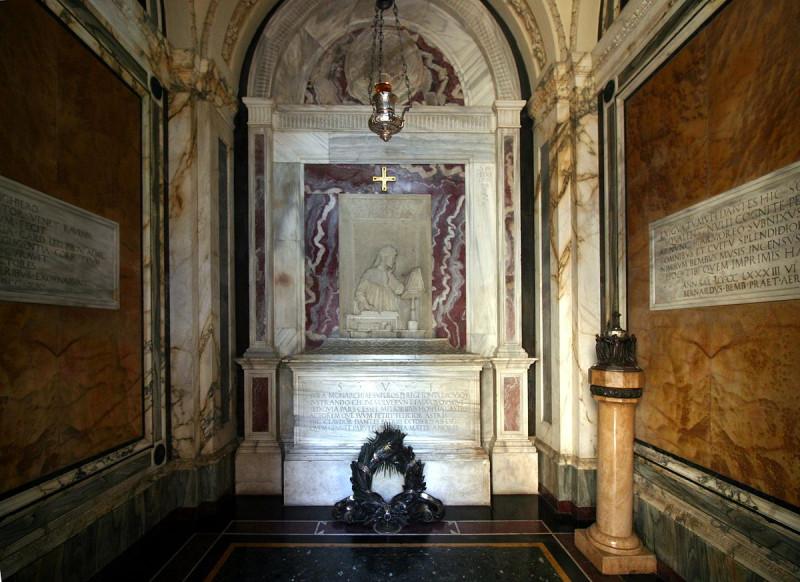 Гробница Данте (фото 2016 года)