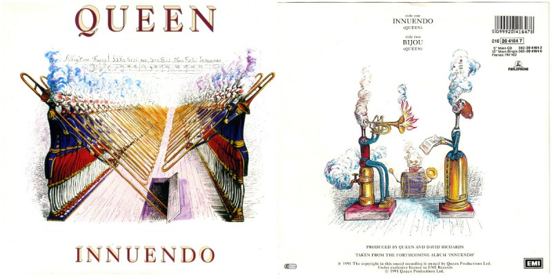 Обложка сингла Innuendo
