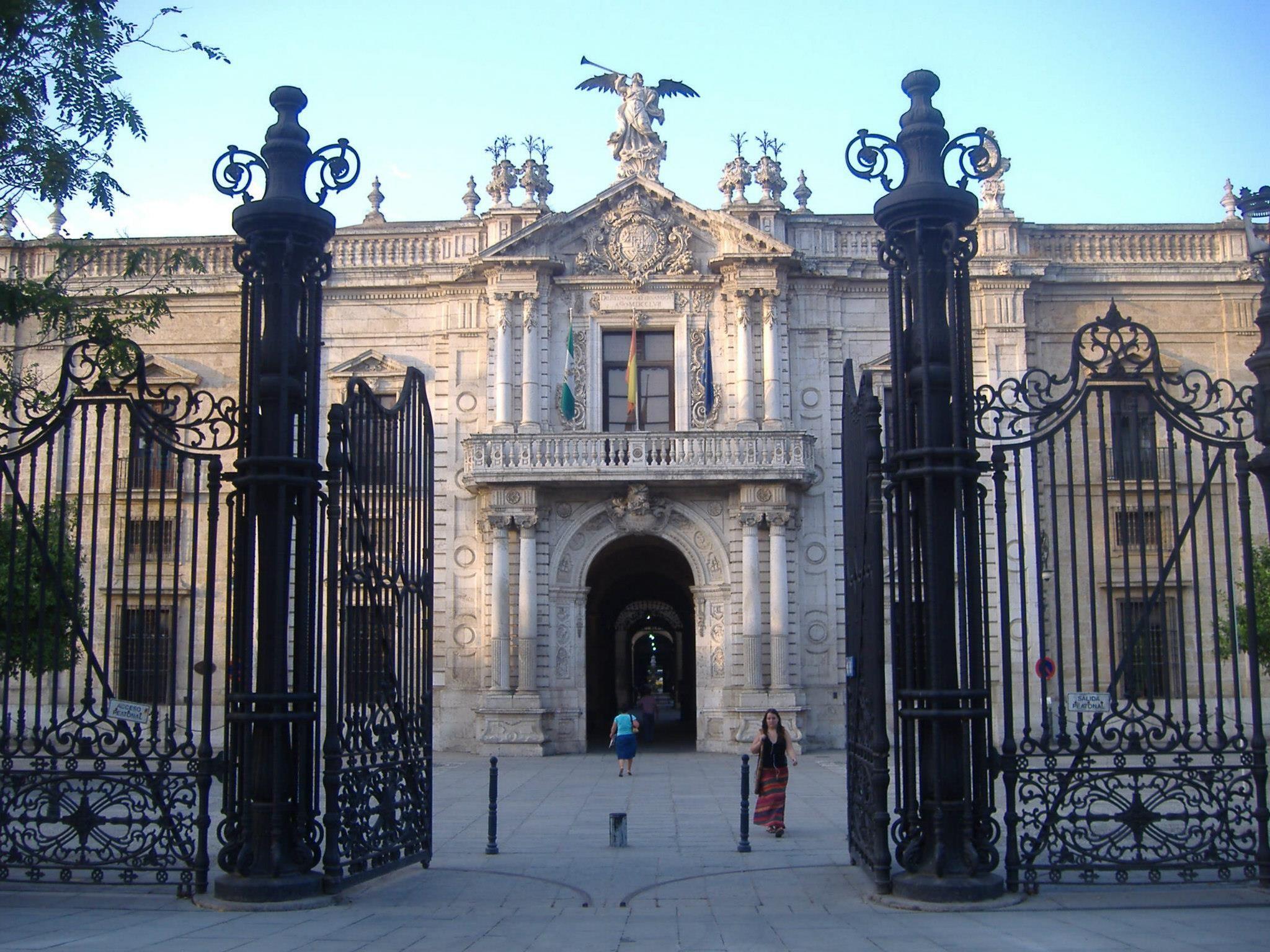 Севильский университет (бывая королевская табачная фабрика)