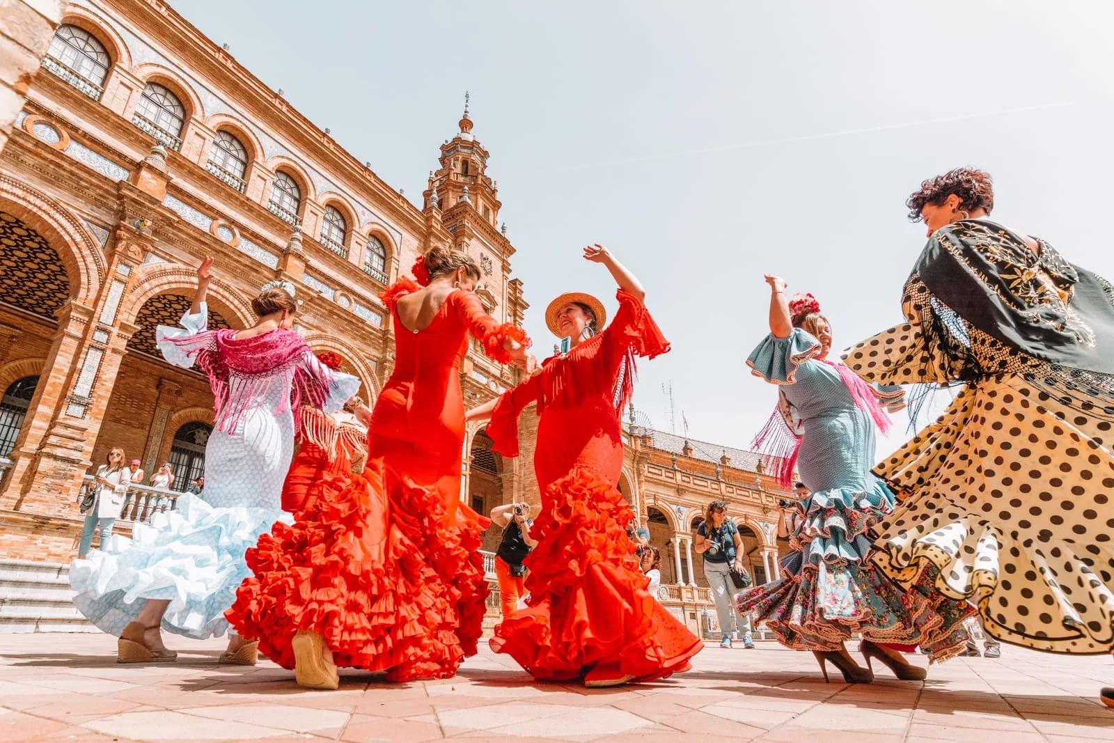 Фестиваль фламенко в Севилье