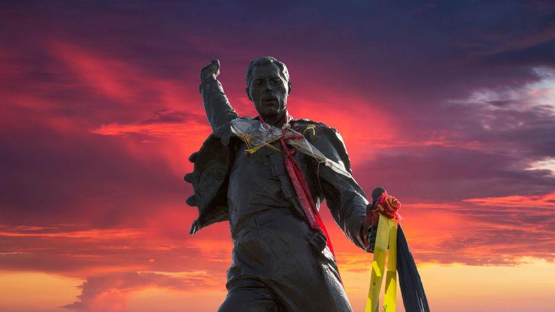 Памятник Фредди Меркьюри в Монтрё