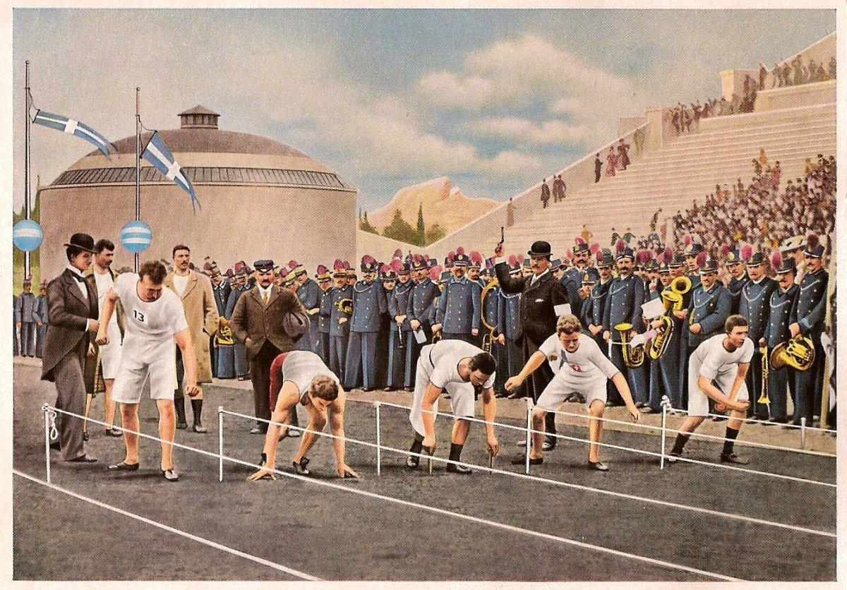 Первые Олимпийские игры современности, 1896