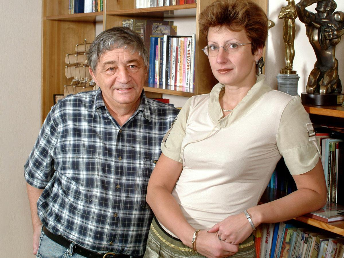 Эдуард Успенский и Элеонора Филина