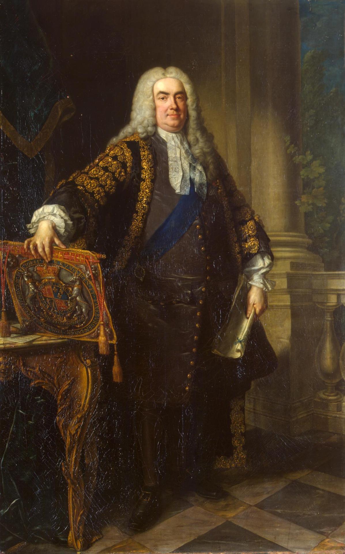 Премьер-министр сэр Роберт Уолпол (1676 — 1745)
