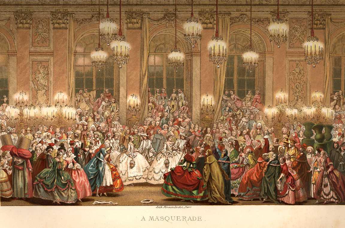 Маскарад XVIII века