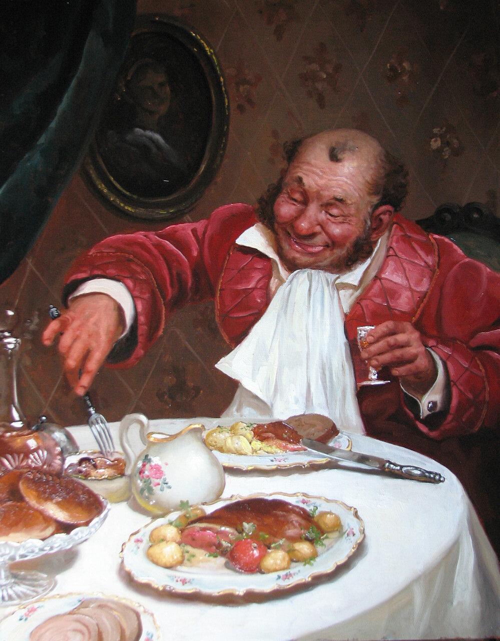Андрей Шишкин. «За обедом».