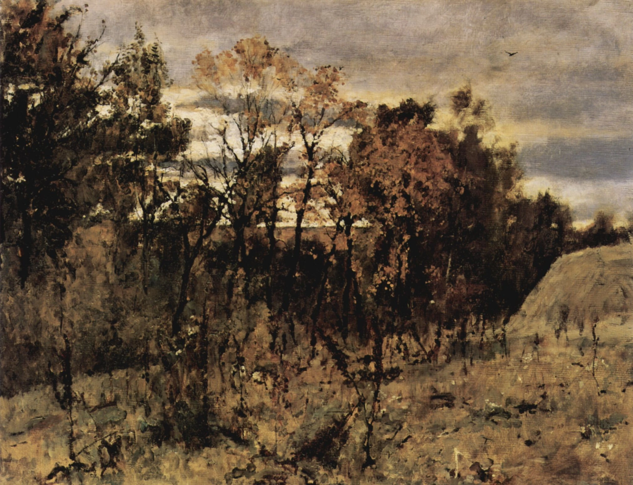 Валентин Серов «Осень в Домотканово», 1886