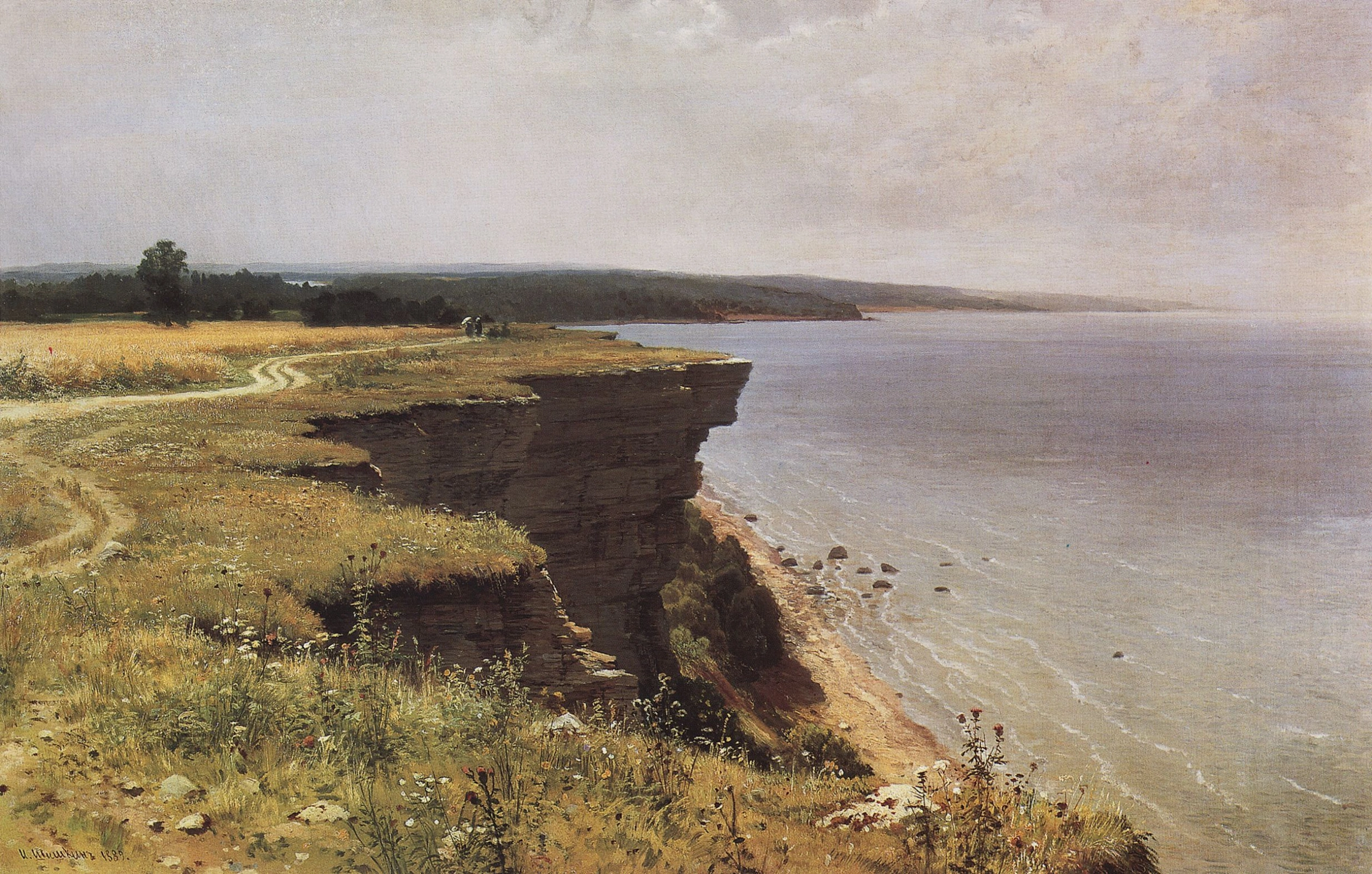 Иван Шишкин «У берегов Финского залива (Удриас близ Нарвы)» (1889)