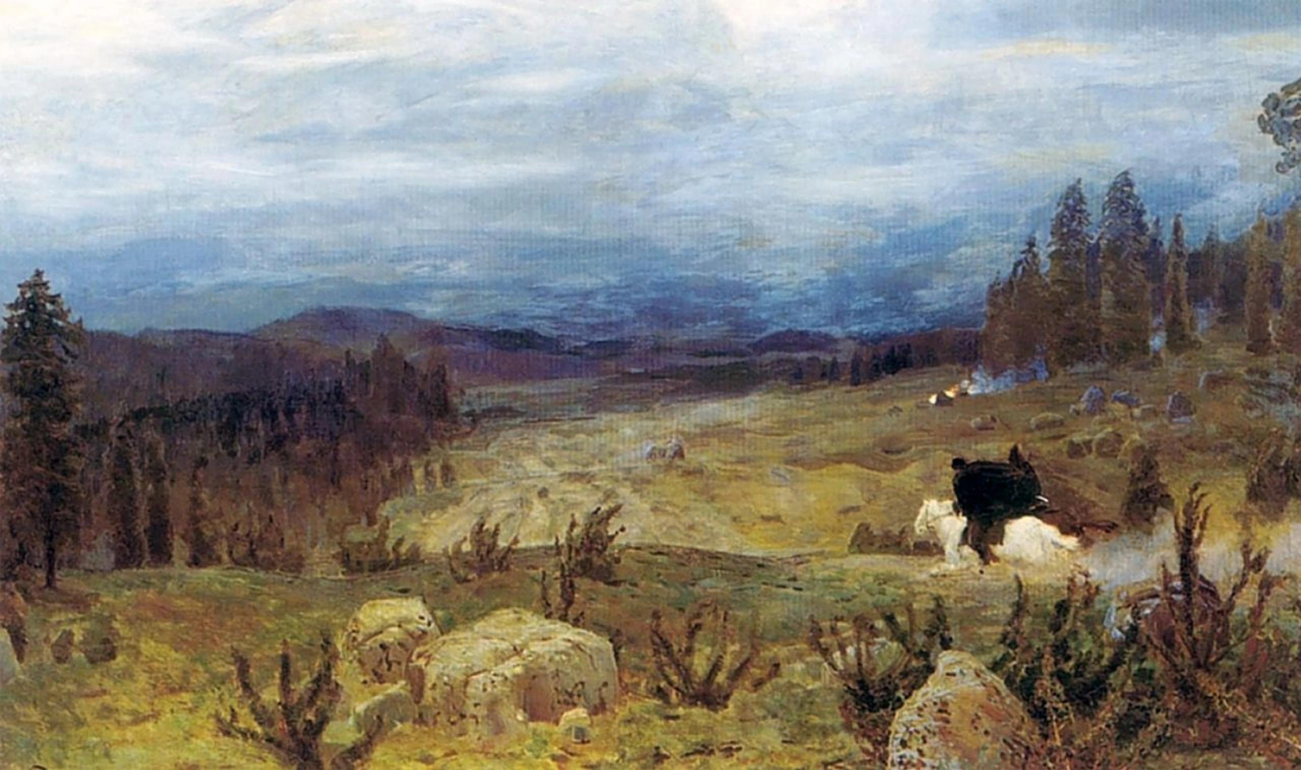 Аполлинарий Васнецов «Сибирь» (1894)