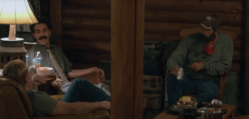 Борат на карантине с Джимом и Джерри