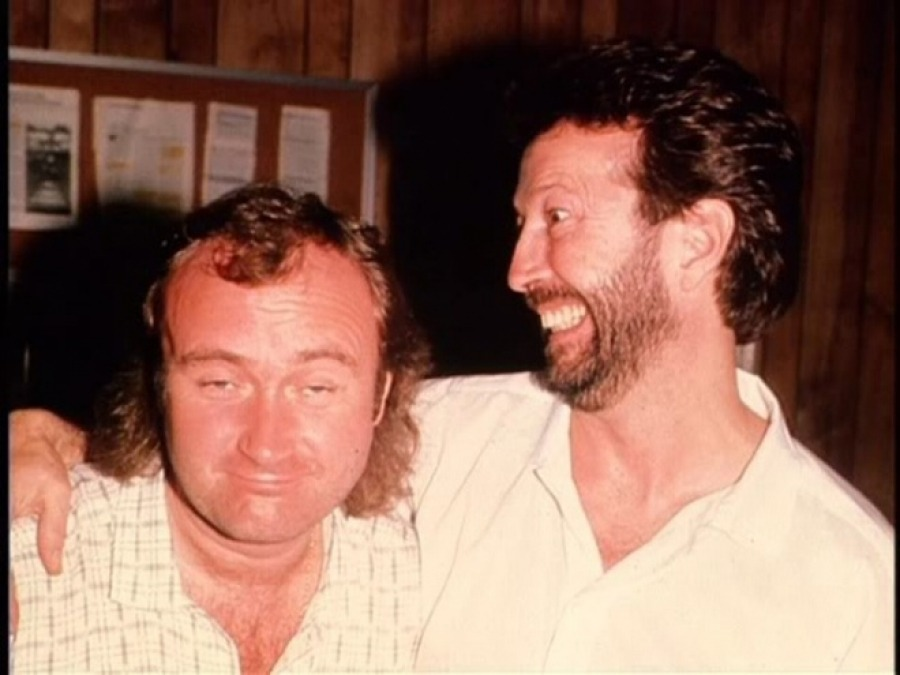 Birmingham concert was filmed in 1986 right after Collins produced Clapton's August LP (источник: www.genesisfan.net)