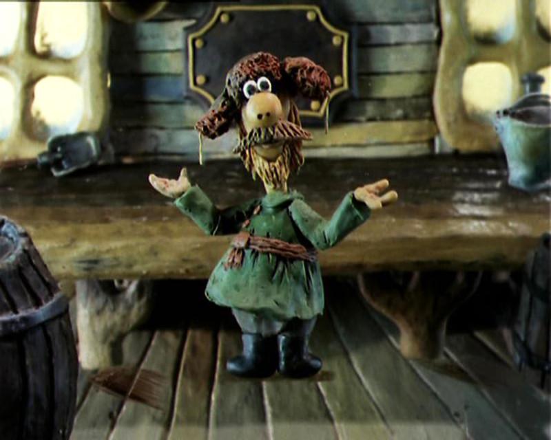 Здесь и далее использованы кадры из мультфильма Александра Татарского «Падал прошлогодний снег» (1983)