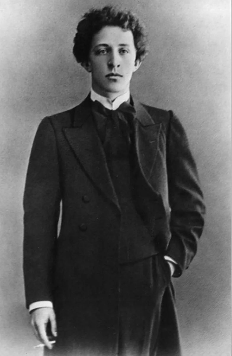 Александр Блок в 1907 году (фото Д. Здобнова)