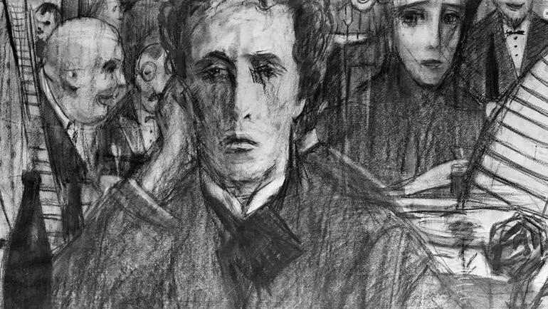 «Александр Блок» (рисунок Ильи Глазунова)