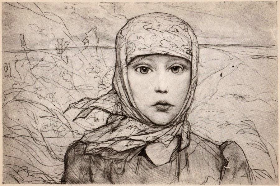 Александр Блок «Россия» (иллюстрация Илья Глазунова)
