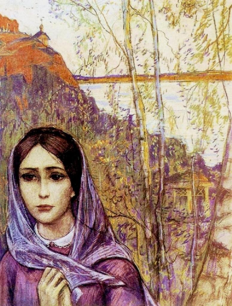 Илья Глазунов «Вера»