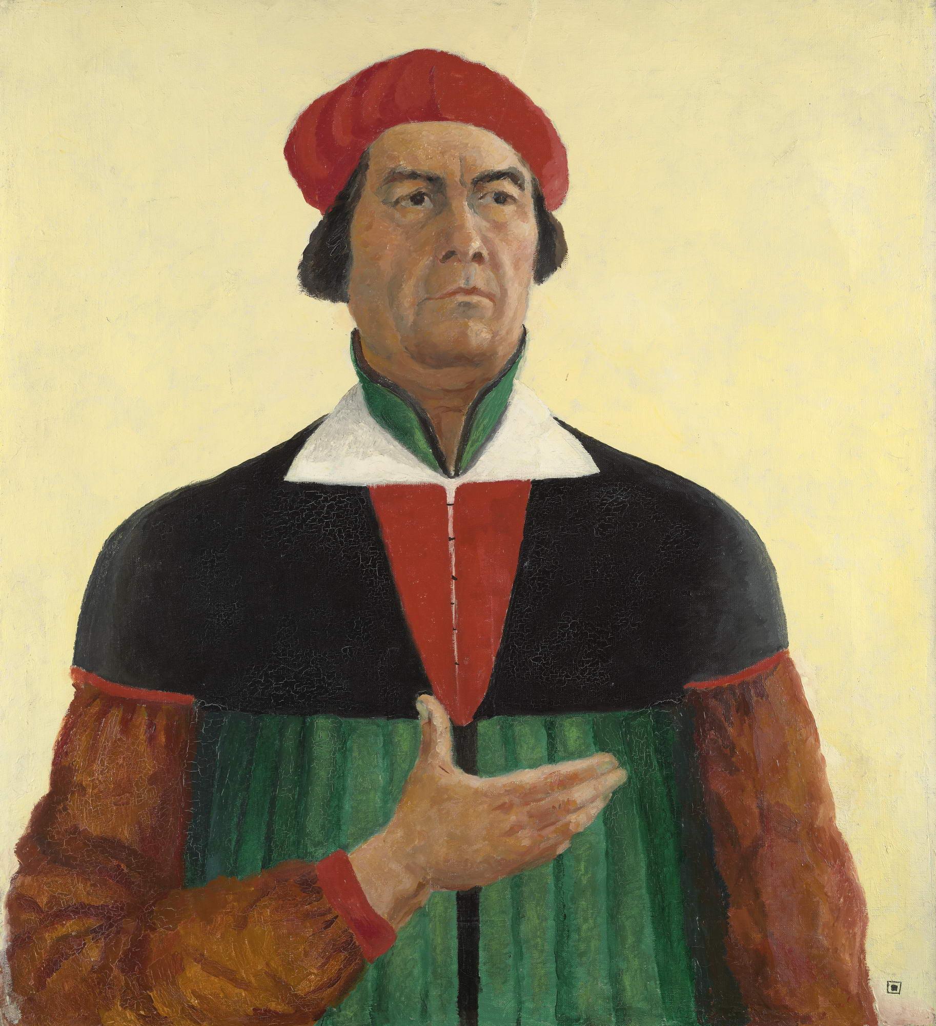 Казимир Малевич «Автопортрет», 1933