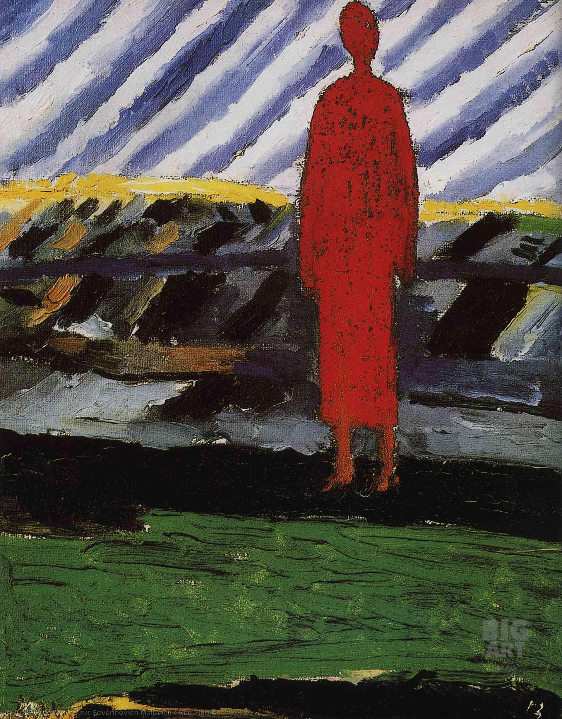 Казимир Малевич «Красная фигура», 1928
