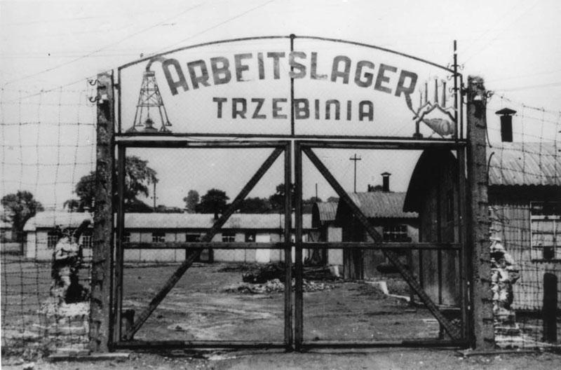 Ворота Треблинки (источник фото: www.warhistoryonline.com)