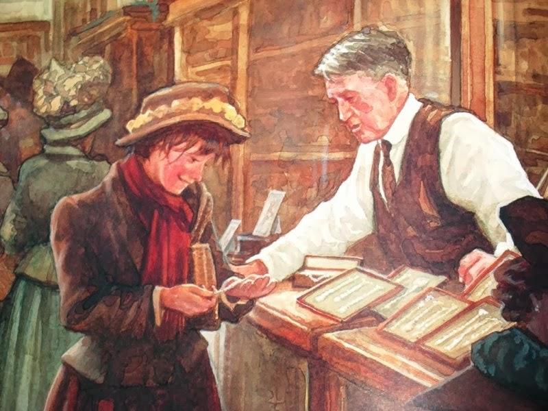 Иллюстрация к новелле О. Генри «Дары волхвов»