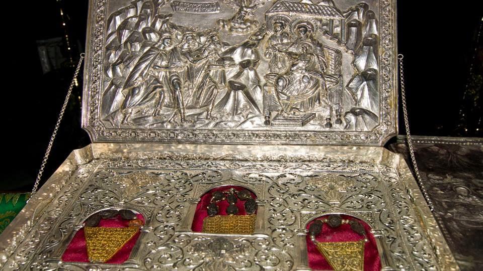 Дары волхвов в монастыре Святого Павла (Афон)
