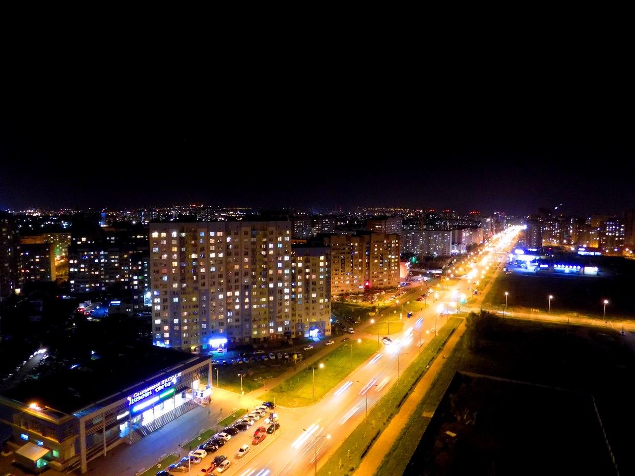 «Мертвый город» (местное название микрорайона на северо-востоке города)