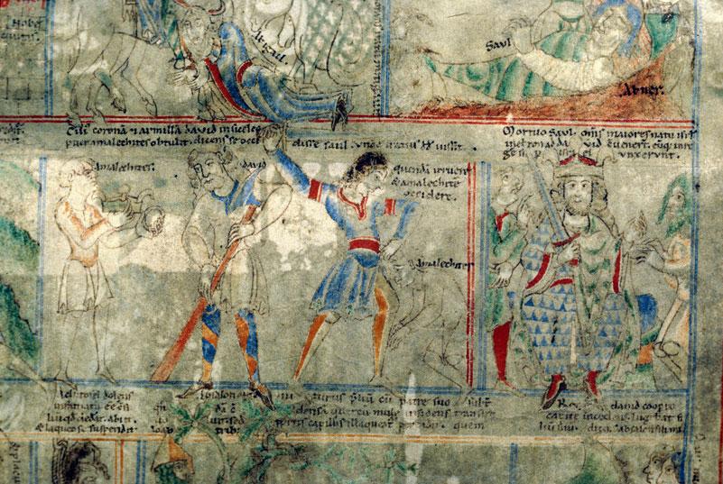 Библия Святого Стефана (Этьена) де Хардинга. XII век. Библиотека Дижона