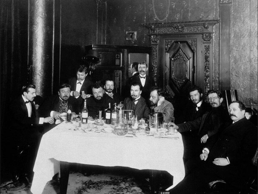 Александр Куприн и его «манычары». Петербург. 1913 год.