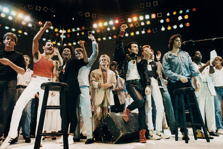 Гала-выступление на Live Aid, 13 июля 1985 года