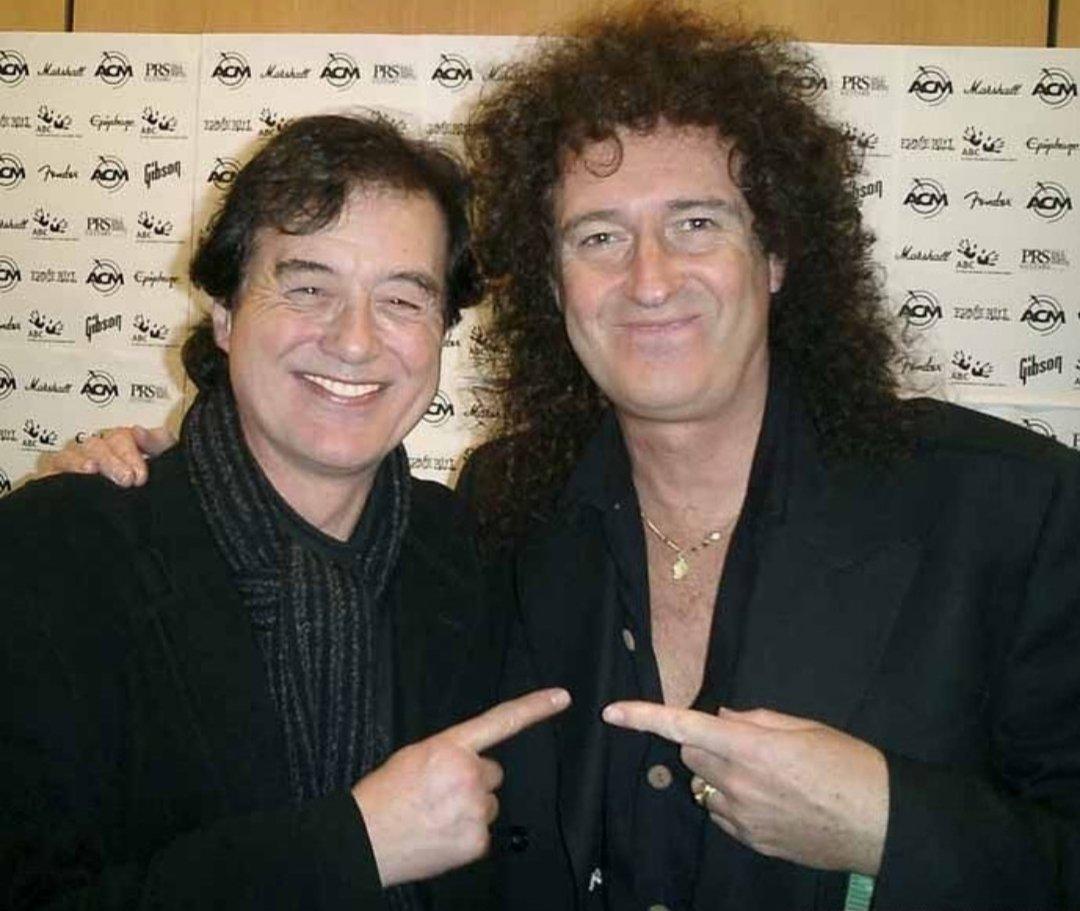 Джимми Пейдж и Брайан Мэй, 2003