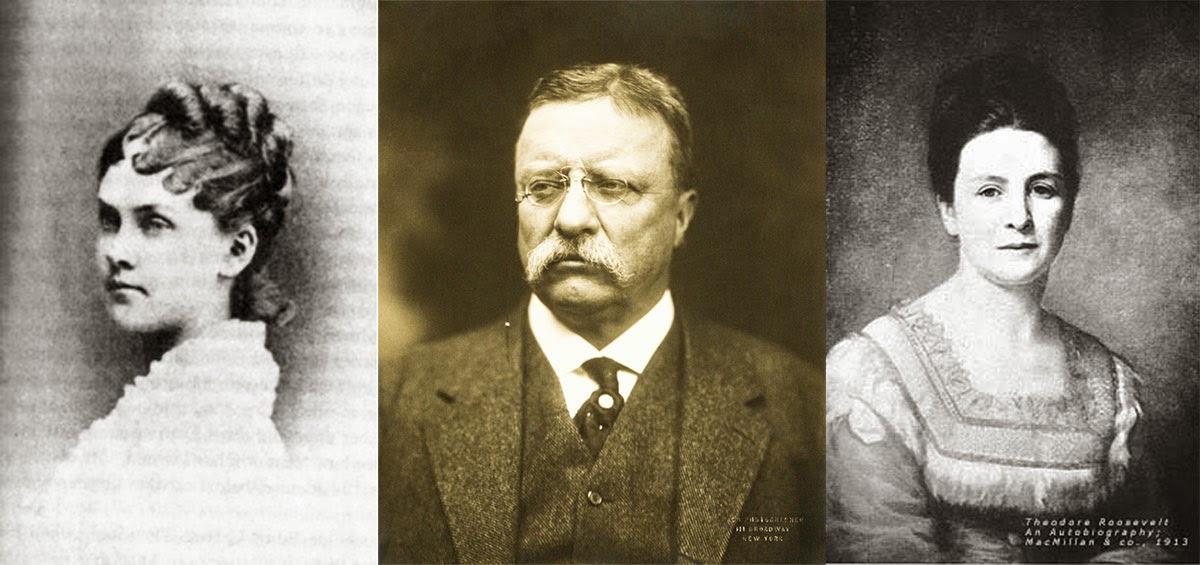 Первая жена Рузвельта, он сам и его мать