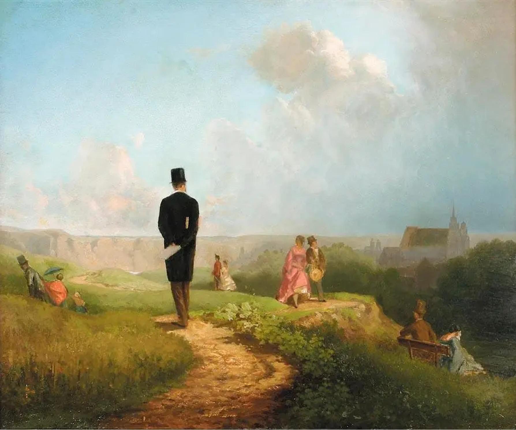 Карл Шпицвег «Холостяк», 1849