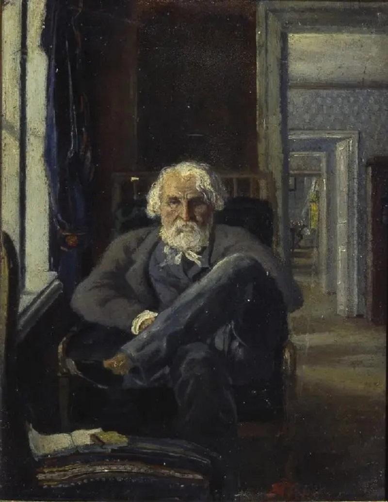 Яков Полонский «Портрет И. С. Тургенева в комнатах Спасского-Лутовинова», 1881