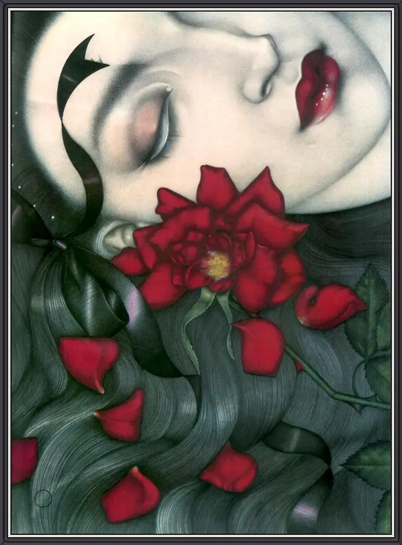 Мелл Одом «Красная роза»