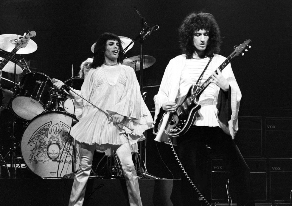Queen at the Rainbow Theatre, 31 march 1974