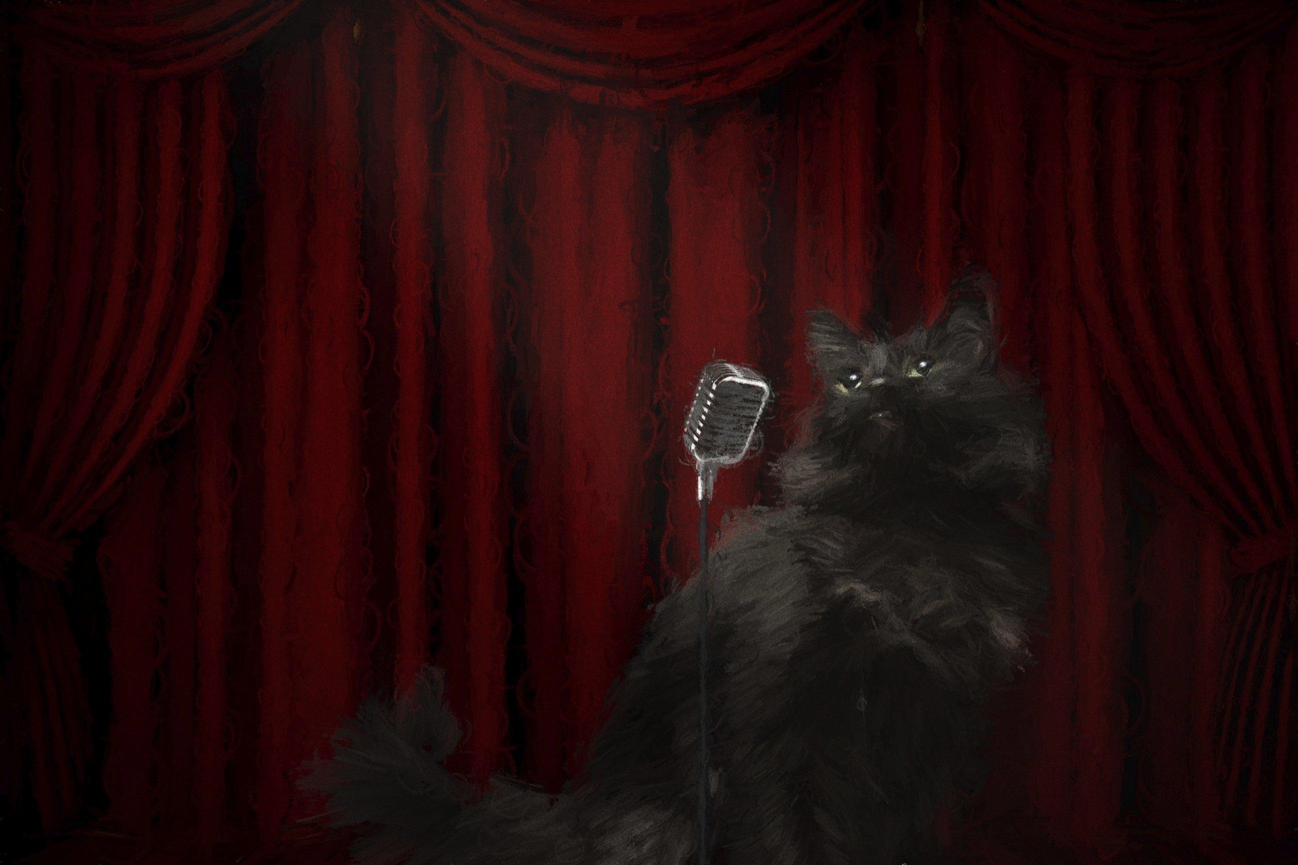 Кошечка фотографа Слинки (середина 2000-х)