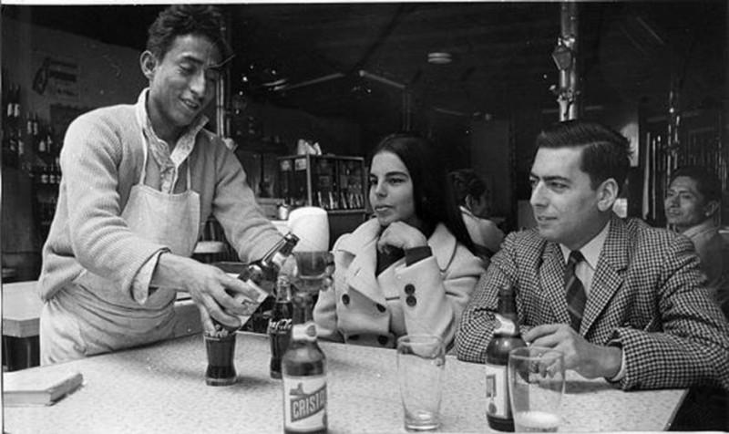 Варгас Льоса с женой Патрисией, 1969