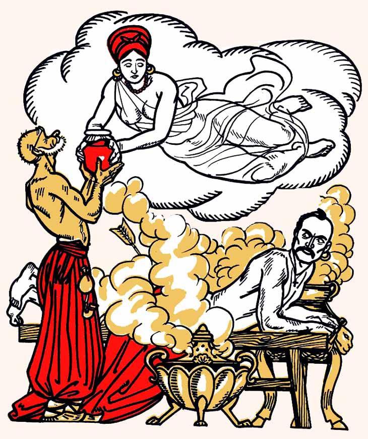 Иллюстрация к «Энеиде» И. П. Котляревского