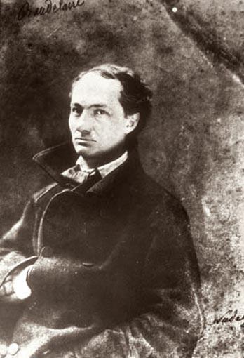 Бодлер в 1855 году (фото: Надар)