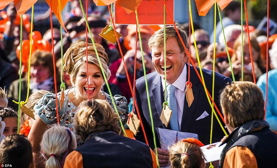 Празднование первого Дня короля в честь Виллема-Александра, 27 апреля 2014 года
