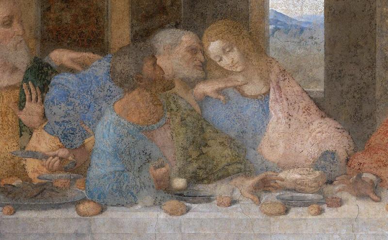 Возможно, приор монастыря Санта-Мария-делле-Грацие был сухощавым и чернобородым...