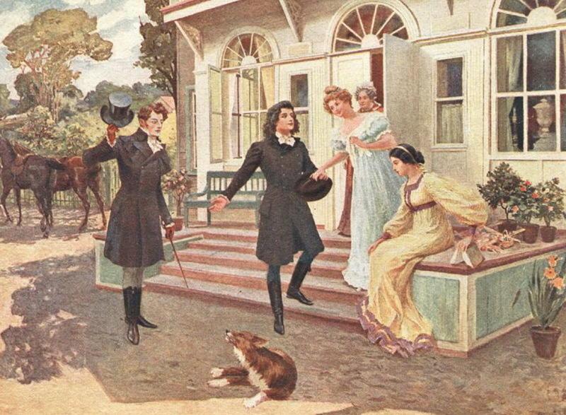 «Евгений Онегин» (иллюстрация Е. П. Самокиш-Судковской, 1899)