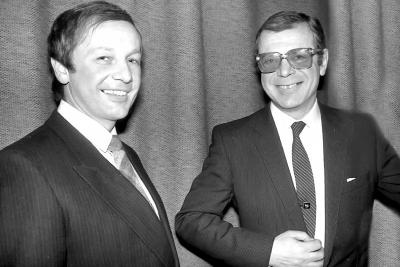 Михаил Задорнов и Аркадий Арканов