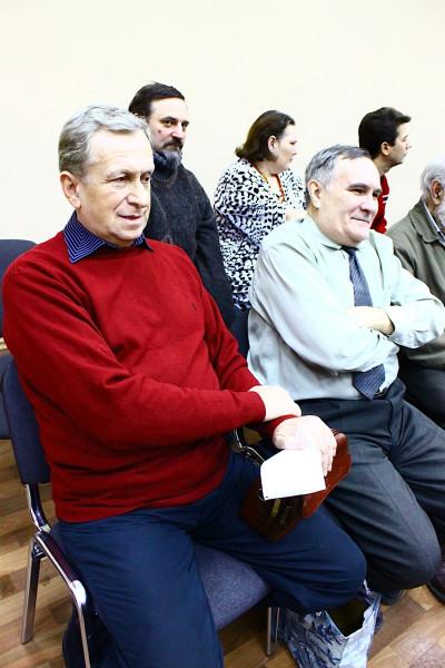 Юрий Бородулин на Самарском Гражданском форуме. Фото Елены Лебединской