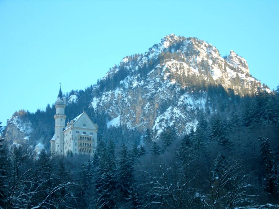 Альпы Германия Нойхвайнштайн