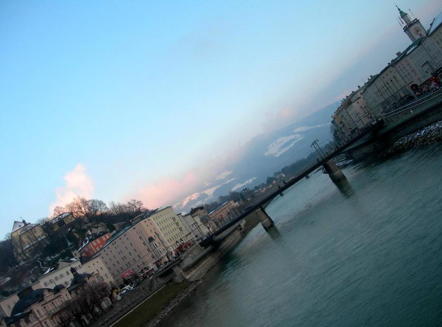Альпы австрия Зальцбург