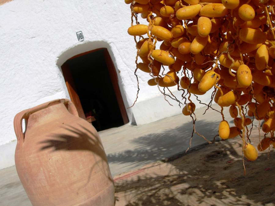 Селение троглодитов. Тунис