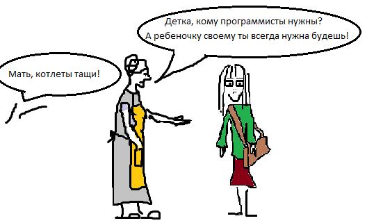 бабка и Дарья