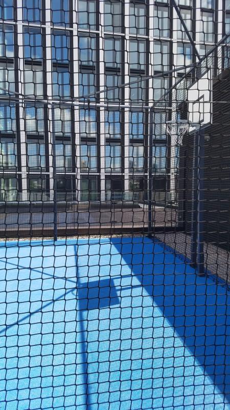 Баскетбол в центре Франкфурта