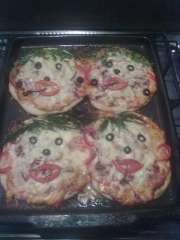 рожи пиццы